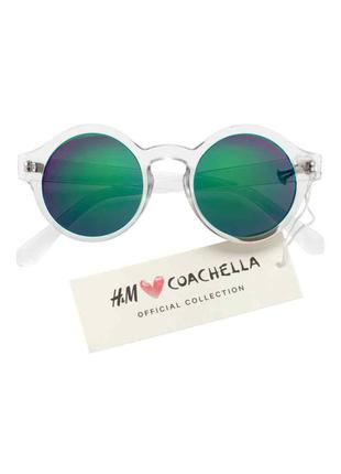 Стильные очки h&m с прозрачной оправой