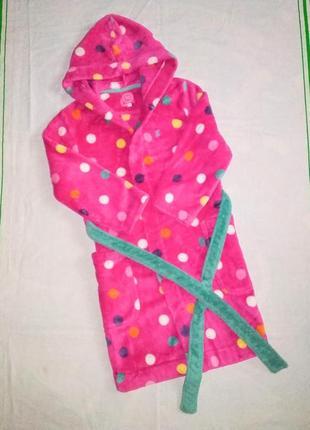 Тёплый халат, халатик 5-6 лет