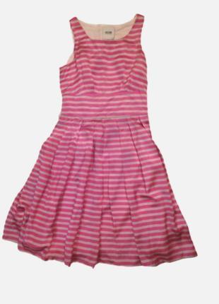 Шелк moschino платье