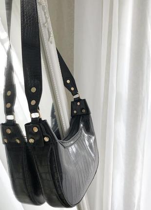 Стильная сумочка-хобо3 фото