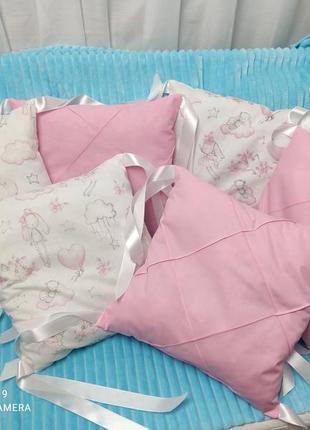 Подушки бортики бампер в кроватку