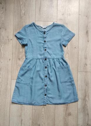 Плаття джинс h&m 8-9 років