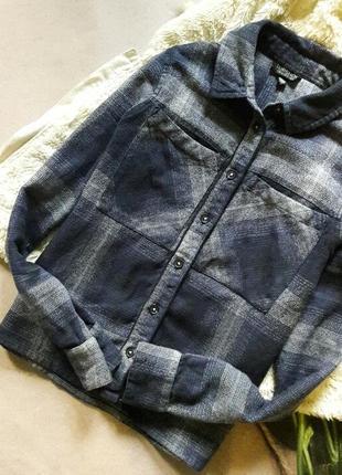 Теплая рубашка topshop