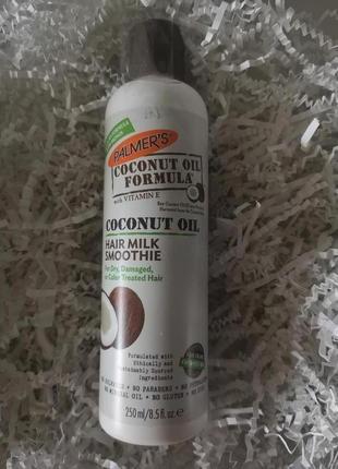 Palmer's coconut oil formula восстанавливающее молочко для волос, 250 мл2 фото