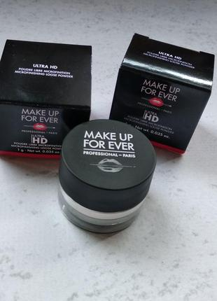 Пудра make up for ever ultra hd loose powder