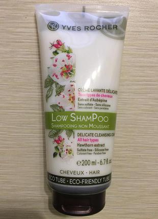 Бережный крем-шампунь low shampoo