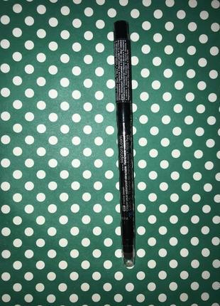 Sephora водостойкий чёрный матовый карандаш