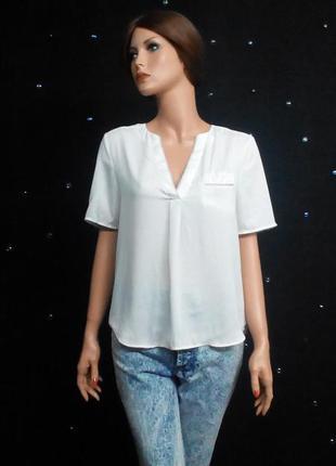 Стильная блузочка с кармашком