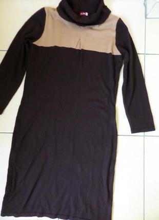 L-3xl тепленьке шерстяне плаття