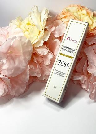 Антивозрастной крем для глаз с улиткой и золотом esthetic house formula gold snail 76%