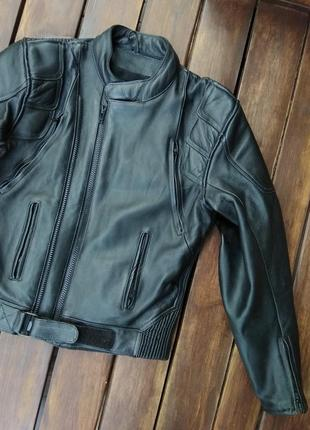 Женская байкерская куртка amx из натуральной кожи