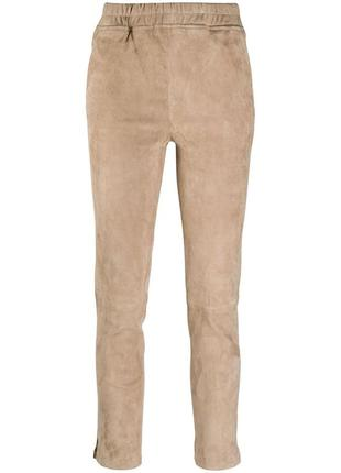 Arma брюки кроя слим без застежки. натуральная кожа