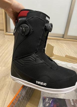 Ботинки для сноуборда thirtytwo tm-2 double boa black 2020