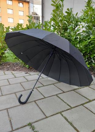 Парасоля парасолька на 16 карбонових спиць тростина зонт зонтик антиветер трость