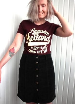 Трендовая юбка на застежках спереди new look