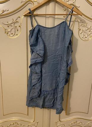Джинсовый сарафан джинсовое платье patrizia pepe