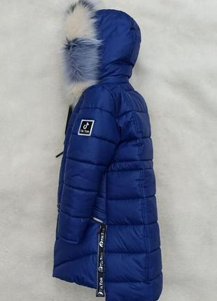 Зимняя куртка пуховик тик ток монклер девочка подросток