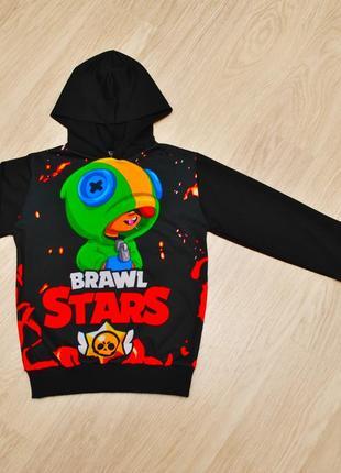 Модное худи brawl stars для мальчиков 6-12 лет в наличии