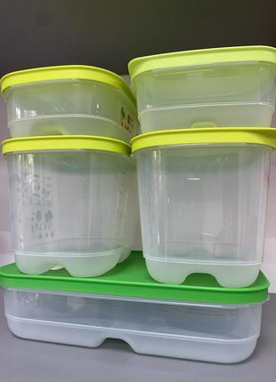 Набор контейнеров «умные холодильники»tupperware