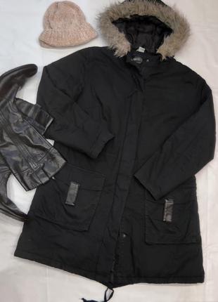 Легкая демисезонная куртка парка батал.котон!