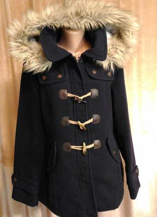 Демисезонное пальто, полупальто kangol, размер xl