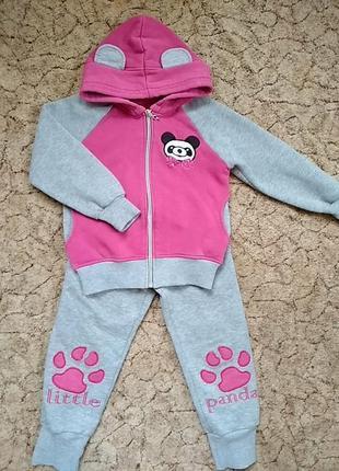 Тепленький костюмчик панда