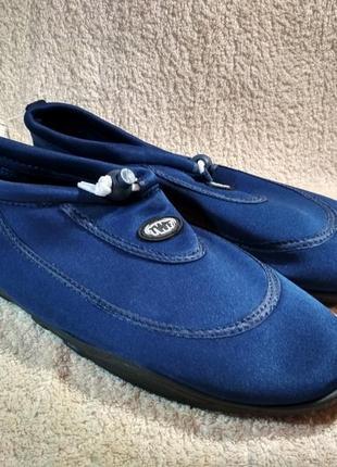 Обувь для плавания бассейна синие  размер 45