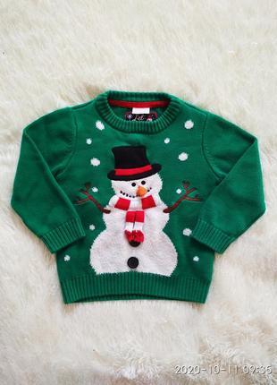 Свитерок новогодний, свитер новогодний