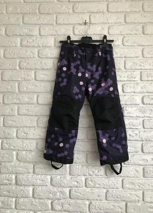 Термо штани пів комбінезон зимові h&m sport непромокаемые деми полукомбінезон лижные штины
