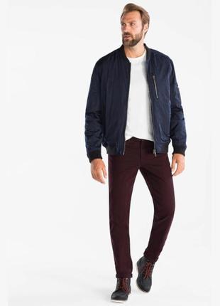 Отличные бордовые джинсы angelo litrico размер 36
