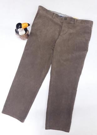 Модные вельветовые брюки, большой размер,  германия