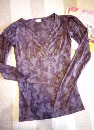 Легкая кофта/блуза/свитер savage с красивым вырезом