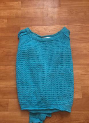 Крутой стильный свитер cropp town