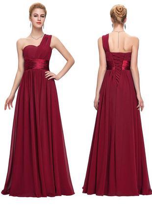 Шикарное вечернее праздничное платье на (выпускной, свадьбу)