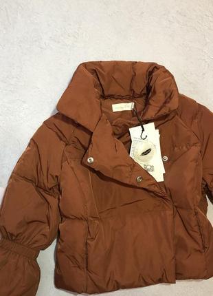 Осенная куртка пуховик холодна осінь