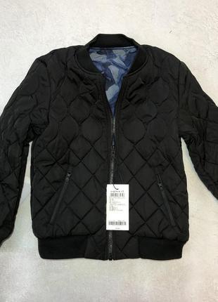 Куртка двухсторонняя бомпер теплая
