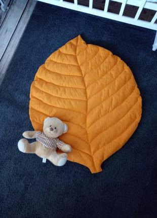 Коврик листик одеяло декор для фотосессий