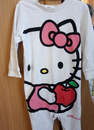 Человкчік ромпер h&m пижама піжама