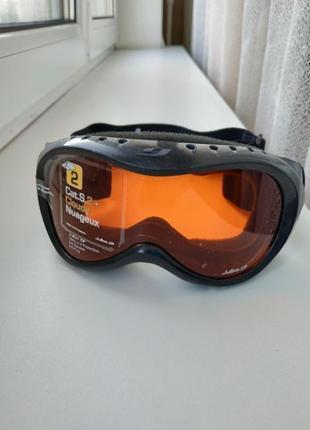 Детская лыжная маска на возраст 3-6 лет julbo satellite