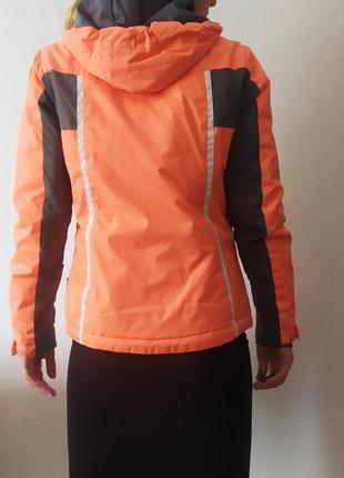 Лыжная фирменая корраловая зимняя термо куртка!