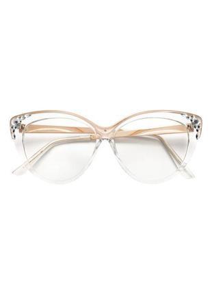 Имиджевые очки со стразмками h&m