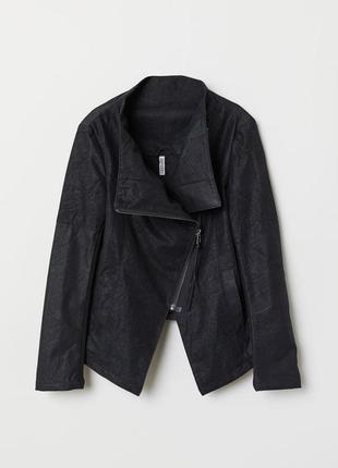 Новая чёрная косуха от h&m