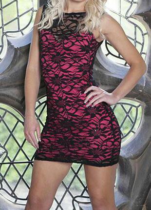 Сексуальное кружевное платье от известного бренда, выпускное, вечернее