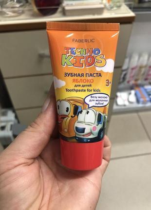 Зубная паста faberlic для детей 3+