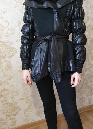Крутая куртка-дубленка италия