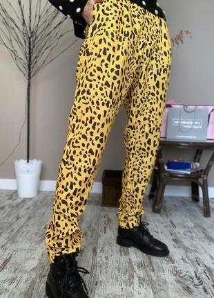 Штаны бананы 🍌 в леопардовый принт