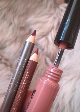 Набор косметики карандаши и блеск для губ комплект за 20 грн