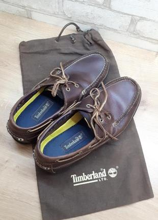 Timberland классические кожаные туфли-лодочка мокасины лоферы оригинал