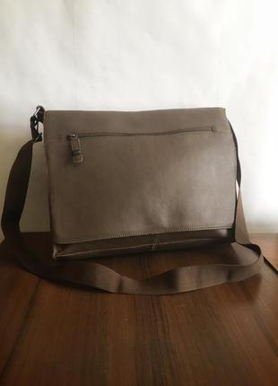 Шкіряна сумка/портфель pier one