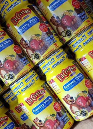 Вітаміни lil critters gummy vites